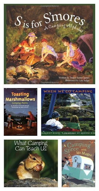 Great blog post by a teacher about all the camping theme stuff she did with her class - includes kids books about camping. Love!