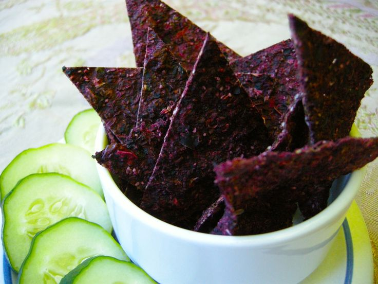 Juice pulp crackers raw vegan looks great!