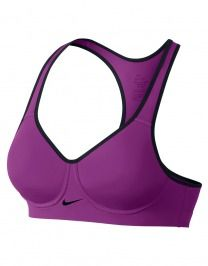Nike Sport Bh - Nike Pro Rival Cosmic Purple/Black/Black
