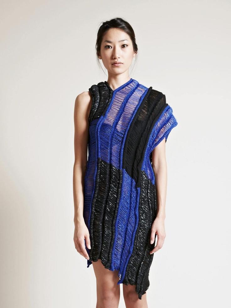 MARTINA SPETLOVA WOMEN'S LAMBSWOOL AND MERINO WOOL JUMPER DRESS