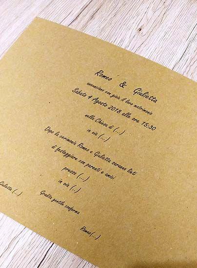 Inviti Matrimonio Fai Da Te Da Stampare