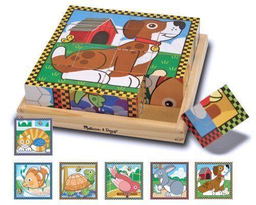 Buy Melissa & Doug - Pets Cube Puzzle - 16pc