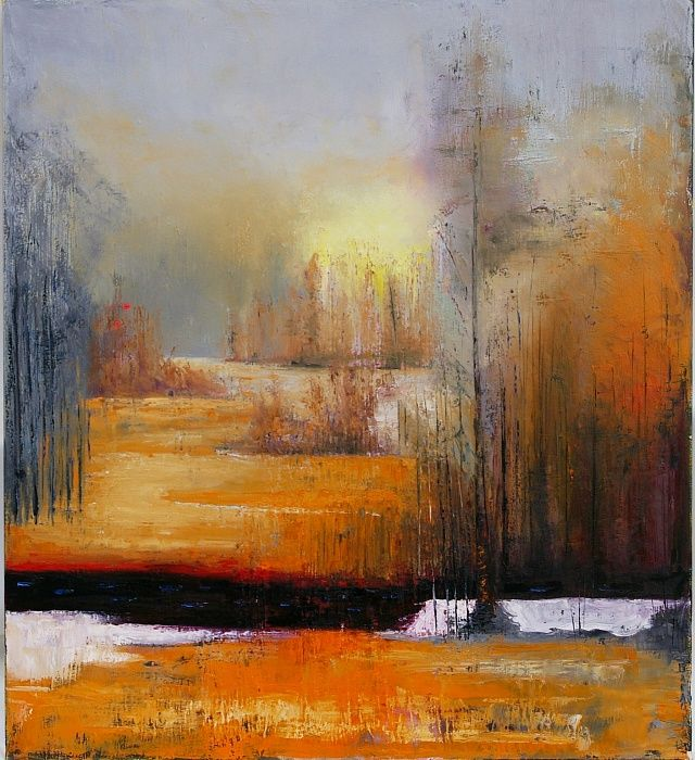 Painting The First Snow By Nataliya Bagatskaya 1 900 Canvas Oil 100x90 Cm Jose Art Gallery Autumn Fall Landscape Paintings Painting Snow Artist