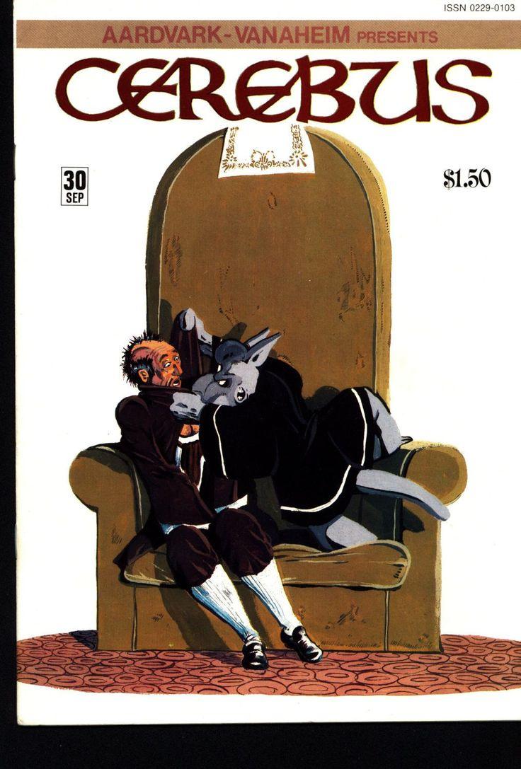 CEREBUS the Aardvark #30 DAVE SIM Aardvark-Vanaheim Fan Favorite Cult Self Published Alternative Conan the Barbarian Parody Comic Book