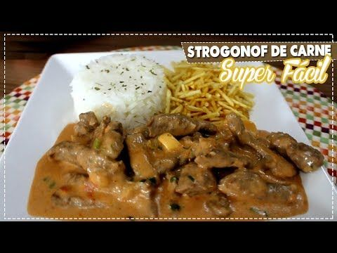 Melhor Strogonof De Carne Receita Super Facil Youtube Com
