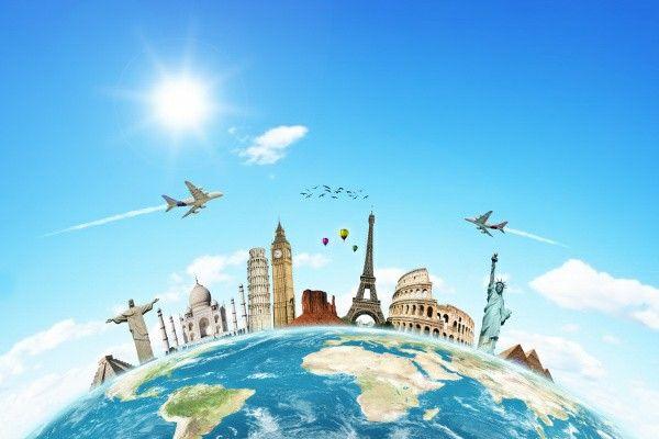 Around the world in diff ways