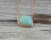 Opal Necklace-Rose gold plated 925 sterling silver necklace-Gift for Girlfriends