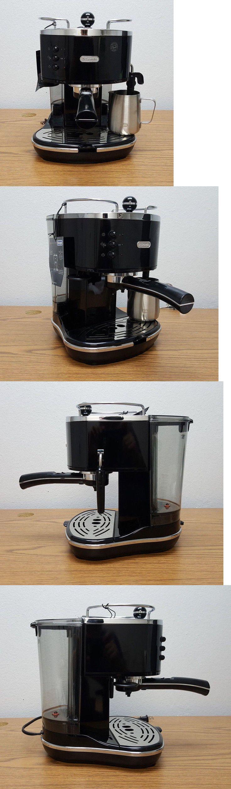 Espresso Machines 38252: Delonghi Eco310bk 15 Bar Pump Espresso Cappuccino Latte Machine, Black -> BUY IT NOW ONLY: $84.99 on eBay!