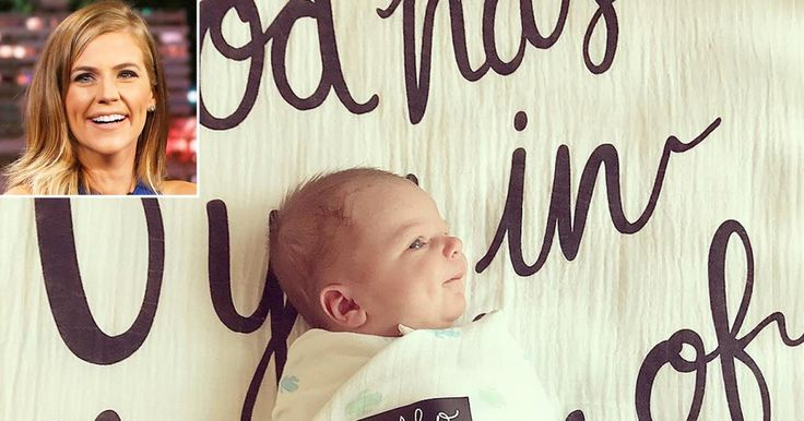 Samantha Ponder Welcomes Son Robinson True