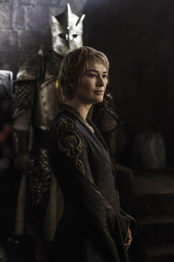 Cersei & her Mountainous Kingsguard