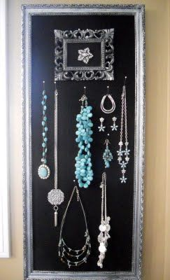 The V Spot: jewelry holder