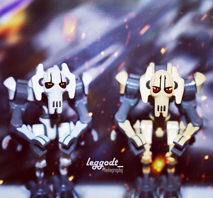Grievous vs. Grievous Which figure do you prefer? Left: from 75199 2018 Right: from 8095 2010  #legostarwars #lego #legostagram #legos #starwars #minifigures #starwarsminifigures #brickworld #bricks #starwarsrebels #starwarsfan #legos #legominifigures #legophotography #photography #nikon #photoshop #photooftheday #legoart #legoland #grievous