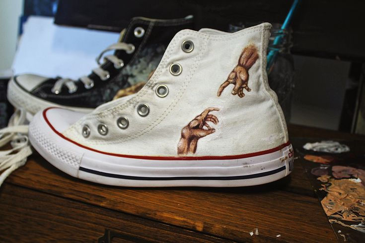 Classic CONVERSE 3 Strap All Star Velcro White Canvas Shoes Hot