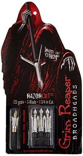 Grim Reaper Razorcut Extra - 125 Grain by Grim Reaper Broadheads. Grim Reaper Razorcut Extra - 125 Grain.