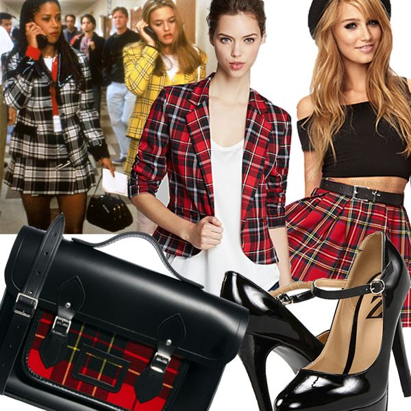 Get the Look: Halloween Edition | Cher/Dionne from Clueless (preppy school girl costume) #fashion #style #halloweencostume #halloween #cluelessfashion @The Cambridge Satchel Company @Forever 21 @6PM.COM