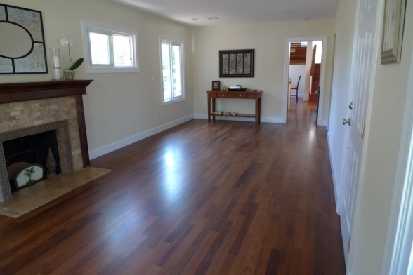 Rectangle Living Room, no entry way