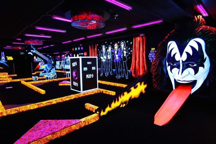 Kiss Mini Golf at Rio Las Vegas resort.