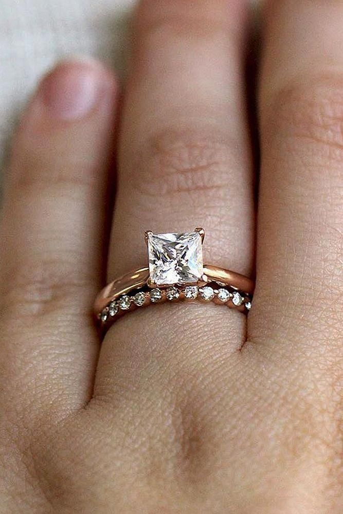 Princessengagementring The Perfect Engagement Ring Set Pinterest