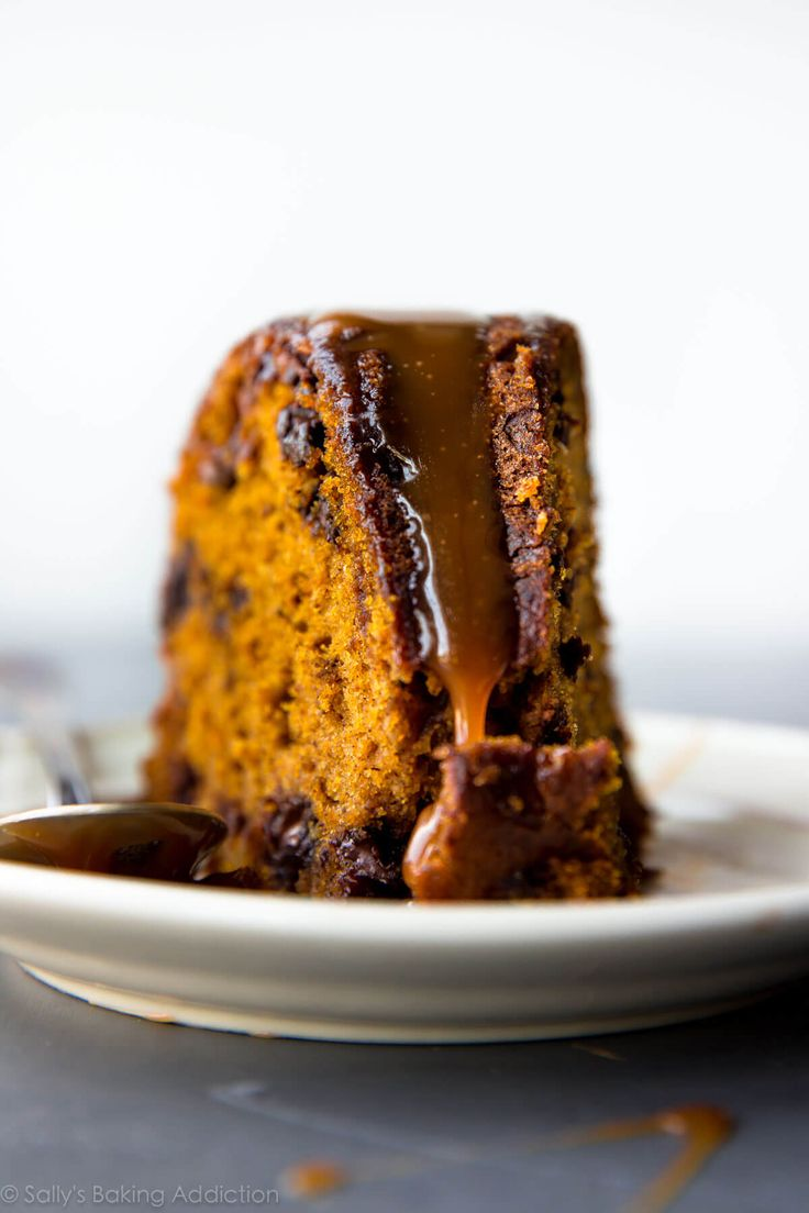 Nothing beats this pumpkin chocolate chip bundt cake when the weather gets cooler! It couldn't be easier and it's always a hit.