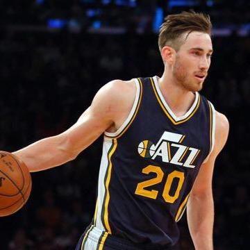 Gordon Hayward. Utah Jazz #NBA