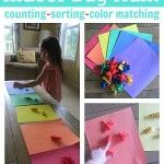 Indoor Bug Hunt {with counting, sorting and matching}