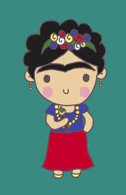 frida kahlo caricatura - Buscar con Google