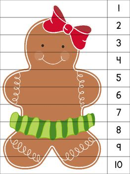 These number puzzles allow students to practice their counting skills (1-10…