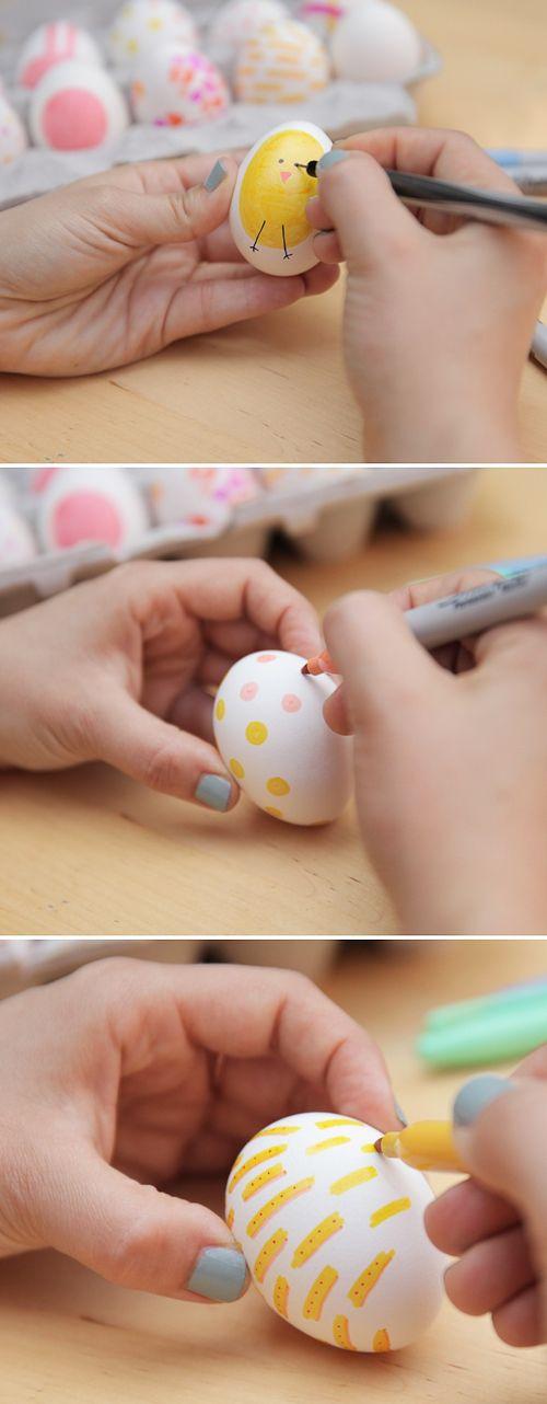manualidad pascua DIY fácil con niños