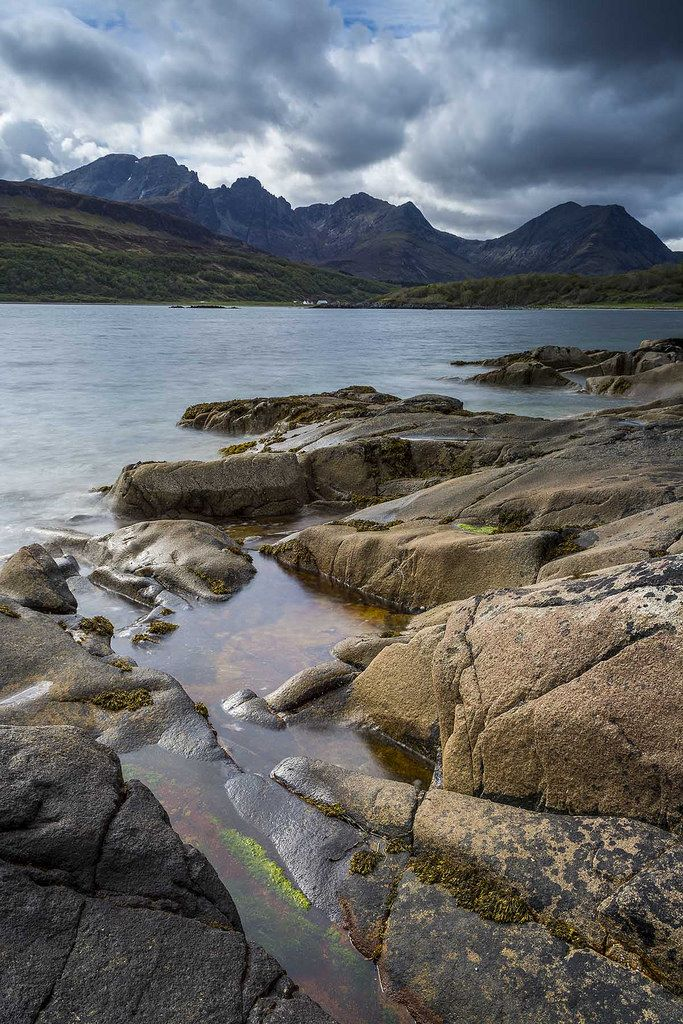 wanderthewood: Loch Slapin and Blà Bheinn, Isle of Skye, Scotland by BJE Landscape Photography on Flickr