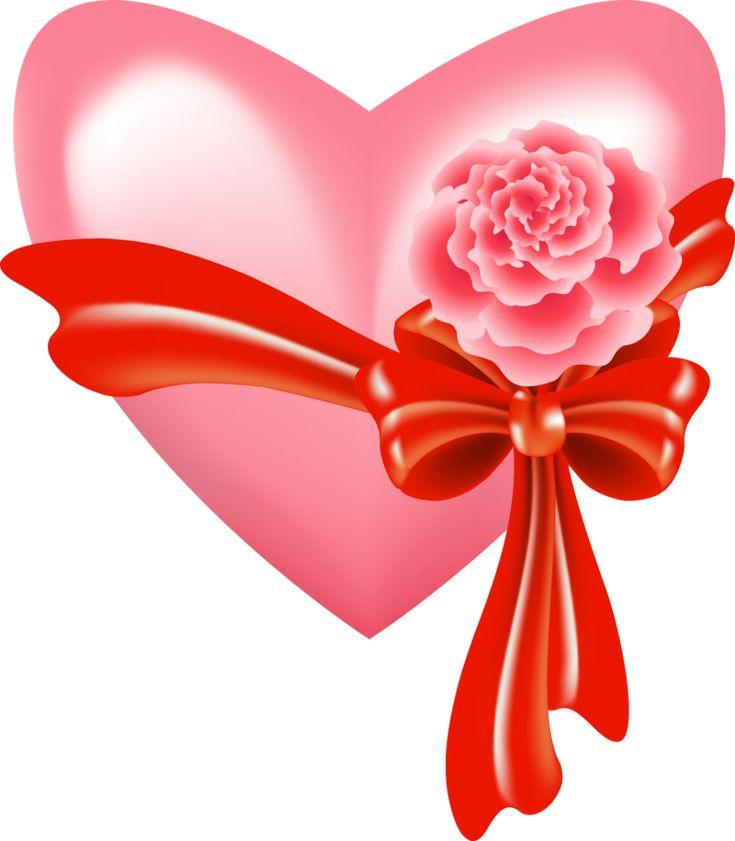 картинка сердце с бантиком как такое