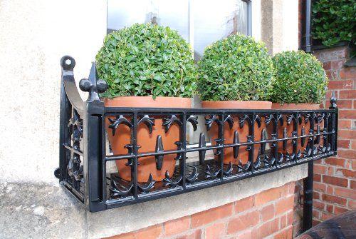 large wrought iron window boxes 2
