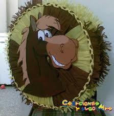 Resultado de imagen para piñatas de caballos