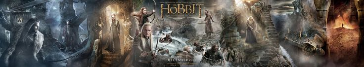 Extra Large Movie Poster Image for The Hobbit: The Desolation of Smaug