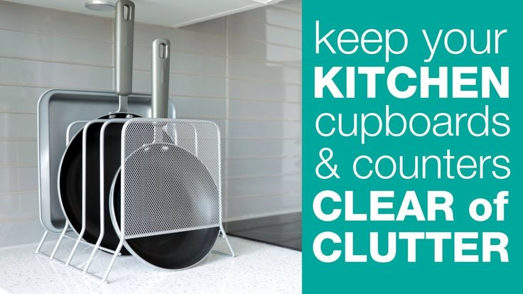 How To Cut Down on Kitchen Clutter! | TidyLiving.com