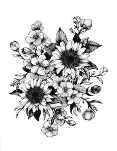 Would look amazing as a piece of a sleeve tattoo, or upper thigh tatt w/ a little color.