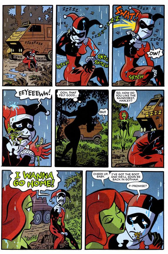 harley quinn and poison ivy dating in comics