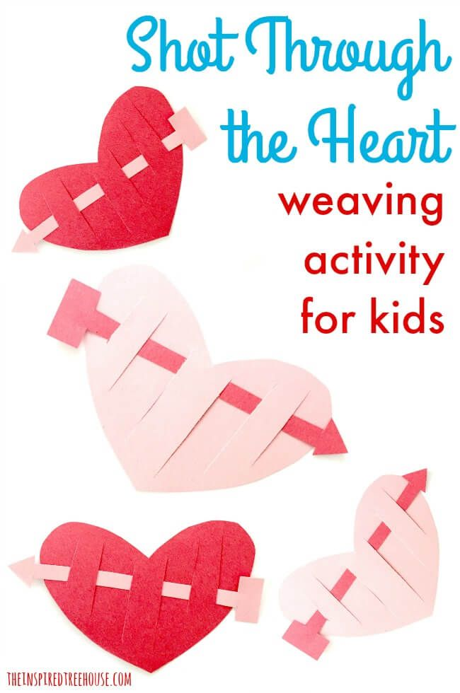 The Inspired Treehouse - We love fun Valentine crafts for kids that target fine motor and other skills.  Here's a new one to try!