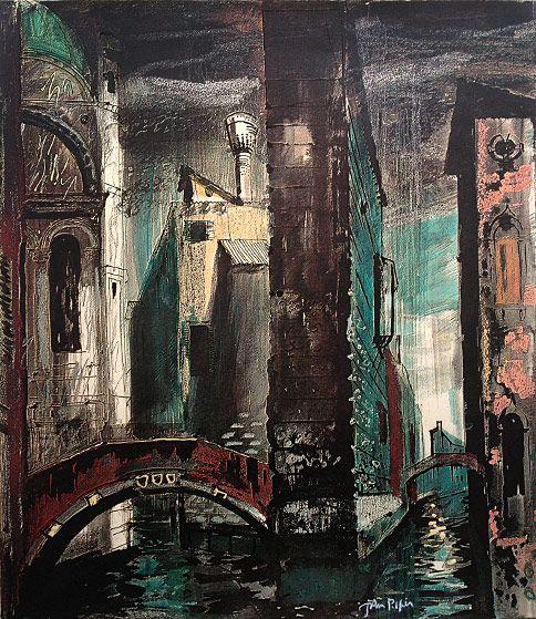 John Piper: Death in Venice II (1973)