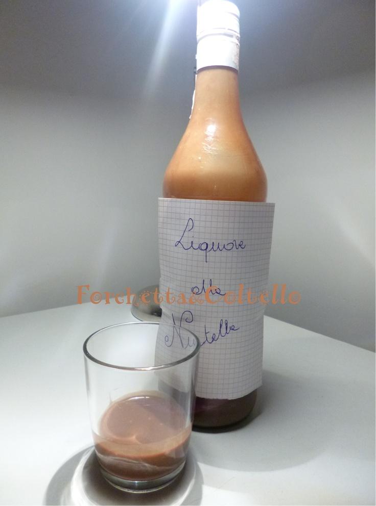 Liquore alla nutella - ricetta golosa