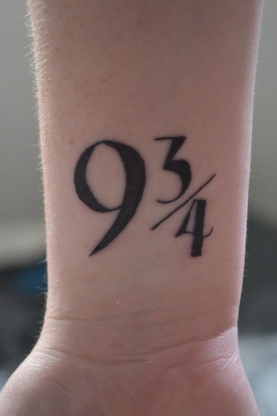 I'm dying to get this tattoo :B: Tattoo Ideas, Platform, 3 4, Harrypotter, Harry Potter Tattoos, Hp Tattoo, Tatoo, Ink