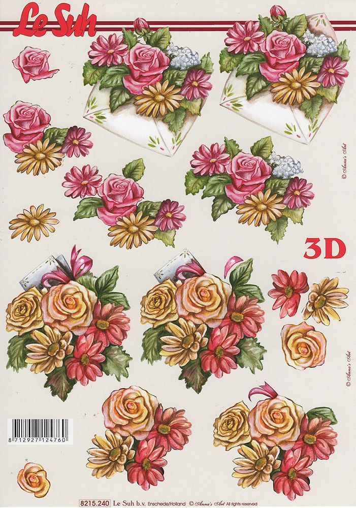 Préférence 722 best flowers images on Pinterest | 3d sheets, Card making and  VK77