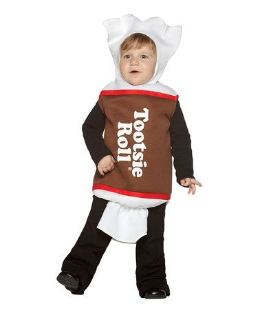 Take a look at this Brown Tootsie Roll Dress-Up Outfit - Infant by Rasta Imposta on #zulily today!