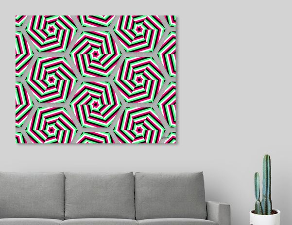 Discover «Joyful Umbrellas», Limited Edition Canvas Print by Gianni Sarcone - From $59 - Curioos