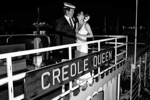 Spend your big day aboard the Creole Queen! #wedding / Roddy Orgeron Photography