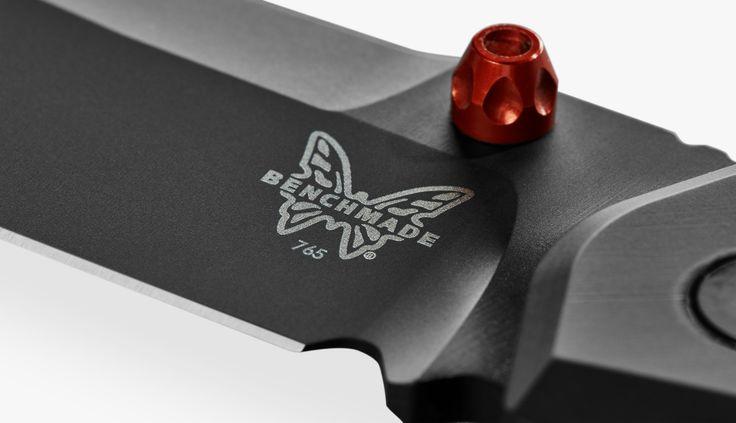 Shinola + Benchmade Titanium 765 Pocket Knife
