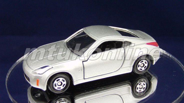 TOMICA 055G NISSAN FAIRLADY 350Z Z33 | 1/58 | 55G-2 | SILVER | 2001 CHINA