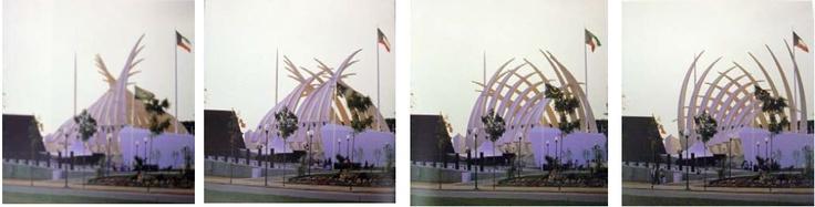 Santiago Calatrava, Kuwait Pavillion, Expo '92, Saville Spain