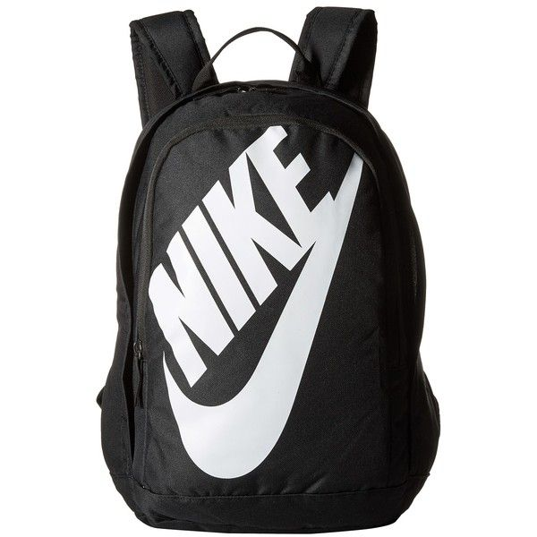 1f65e015d8c0 Nike Hayward Futura M 2.0 (Black Black White) Backpack Bags ( 45) ❤ liked  on Polyvore featuring mens fashion