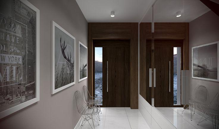 Tu architekci | Wnętrze domu jednorodzinnego w Kalinie
