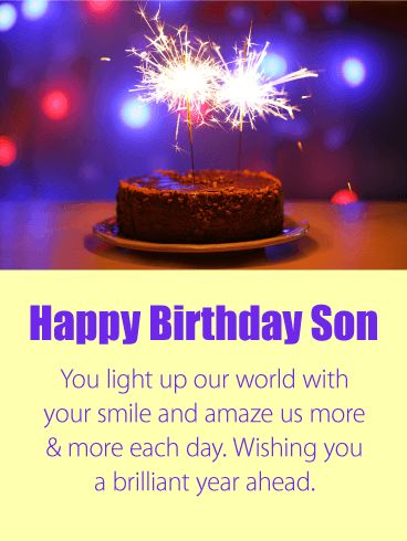 78 Best Birthday Cards For Son Images On Pinterest